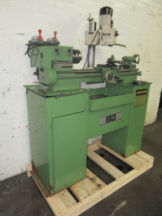 3338-440 Emco 8 6 Lathe Long-Bed 4 13″ x 23 7″ with Maximat