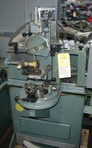 0974 Used Posalux Diamond Facet Cutting Machine 171 Gold