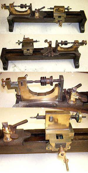 5405 Antique Watchmaker S Bow Lathe 171 Gold International