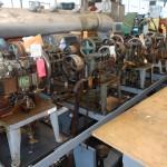 1 Bench of 12 Rope Chain Making Machines