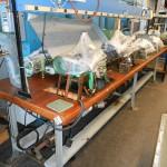 1 Bench of 8 RUF German Curb Chain Making Machine