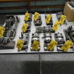 Rapidaire Press Feeds & Wire Straighteners - Large Quantity