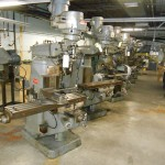 Large Quantity Bridgeport Mills