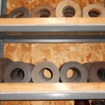 Spacers for Slitting Machine