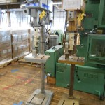 Clausing and Powermatic Drill Presses