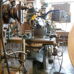Bridgeport Milling Machine with DRO, Vise, Power Feed