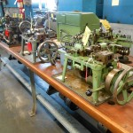 3 of Several Ruf (Germany) Curb Chain Making Machines