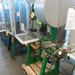 OVerall View - Large Quantity Power PResses with enclosures and controls
