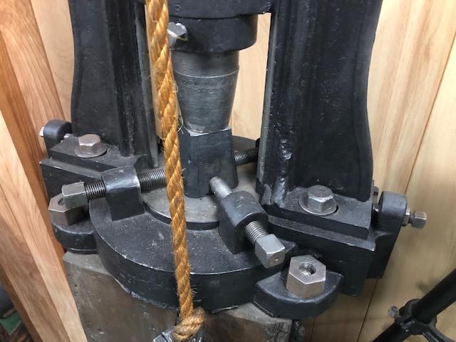5350-385 Antique Rare Foot Drop Hammer Press Circa 1870 MFG  by