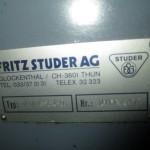studer 013