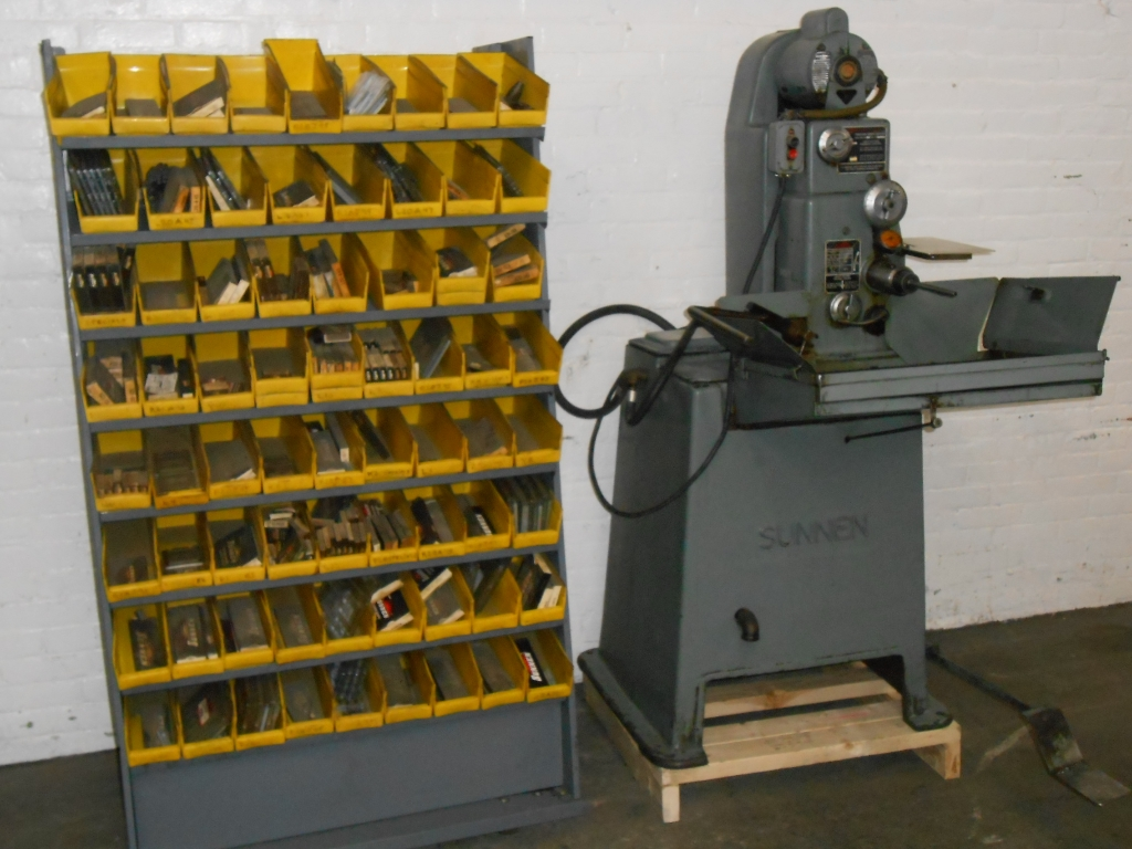 6816-700 Sunnen #MBB-1650 Precision Honing Machine – With Tooling