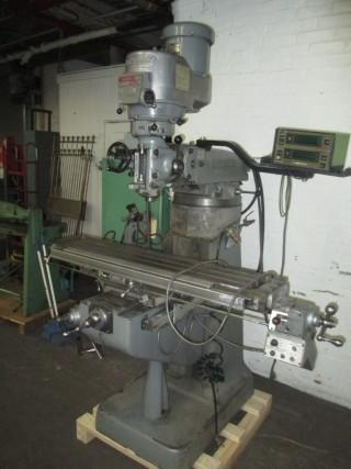 weight of a bridgeport milling machine