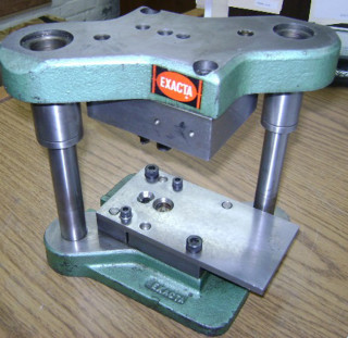 1991 390 stamping press tool and die set to make elephant for Metal stamping press for jewelry