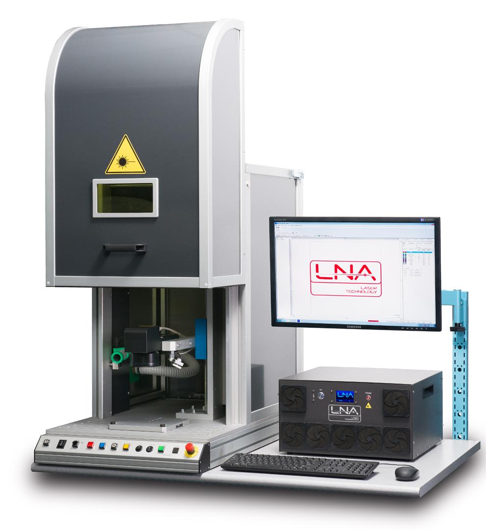 Goldpro 174 Lna Laser Fiber Marking Workstation 171 Gold