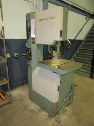Rockwell Delta 28 3x5 20 Vertical Wood Metal Variable Speed Bandsaw Band Saw Ebay