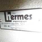 new hermes engraving machine 002