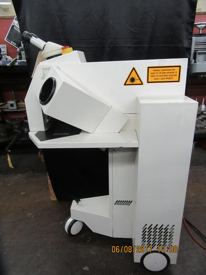 2505 300 Rofin Baasel Lasertech Glove Box Yag Welding
