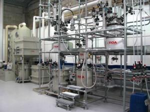aqua regia refining and sedimentation