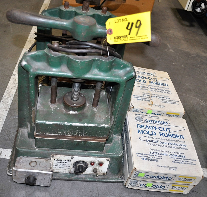 Real Progress, Jewelry Manufacturing Equipment Auction « Gold