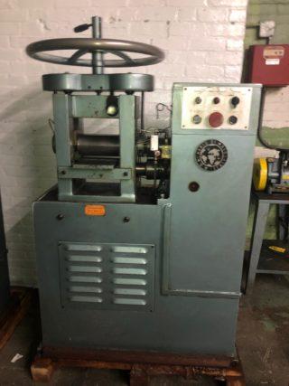 2992 150 Mdm 5 X 8 Power Rolling Mill Plate Breakdown